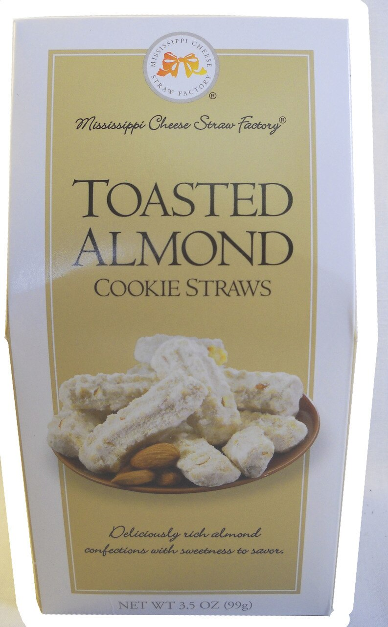 Toasted Almond Cookie Straws