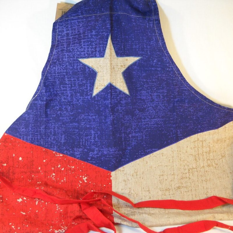 Vintage Texas Flag Chef Apron