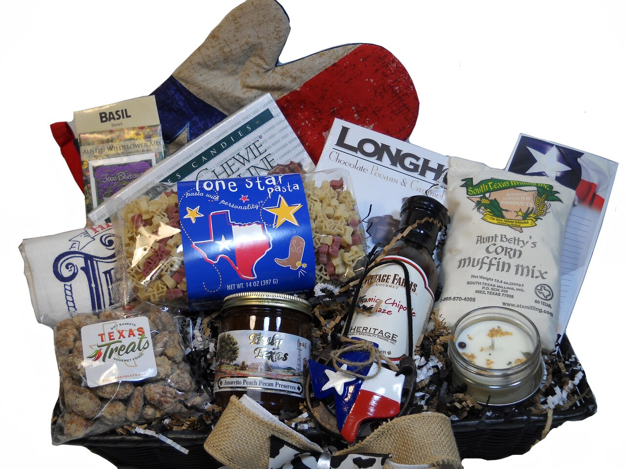 Welcome To Texas Gift Basket 1