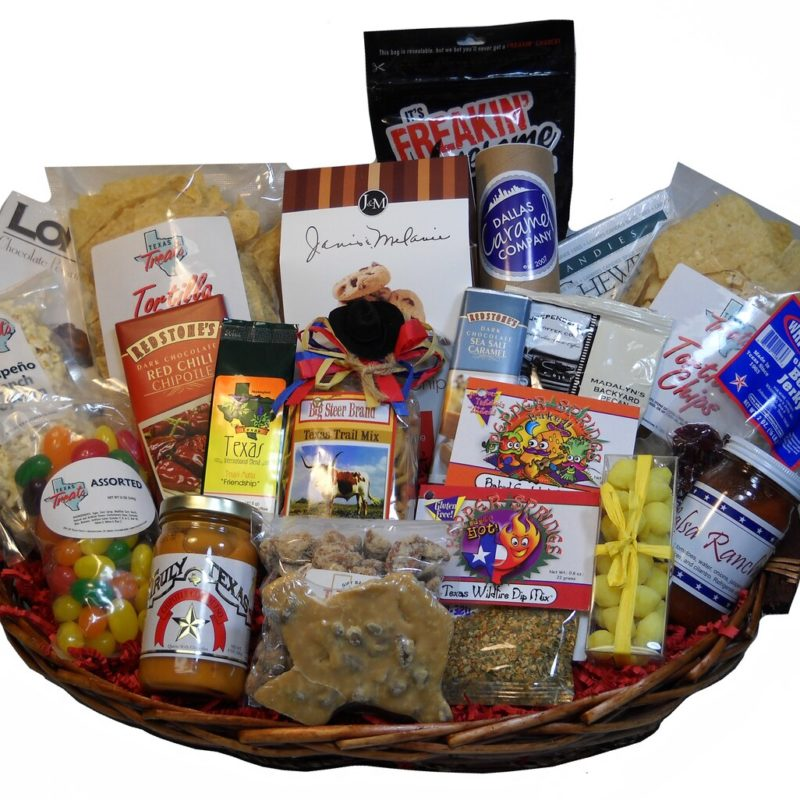 XL Tub of Texas Gift Basket