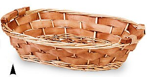 Wood Chip Wicker Tray