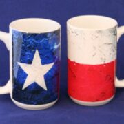 Mug - Painted Texas Flag