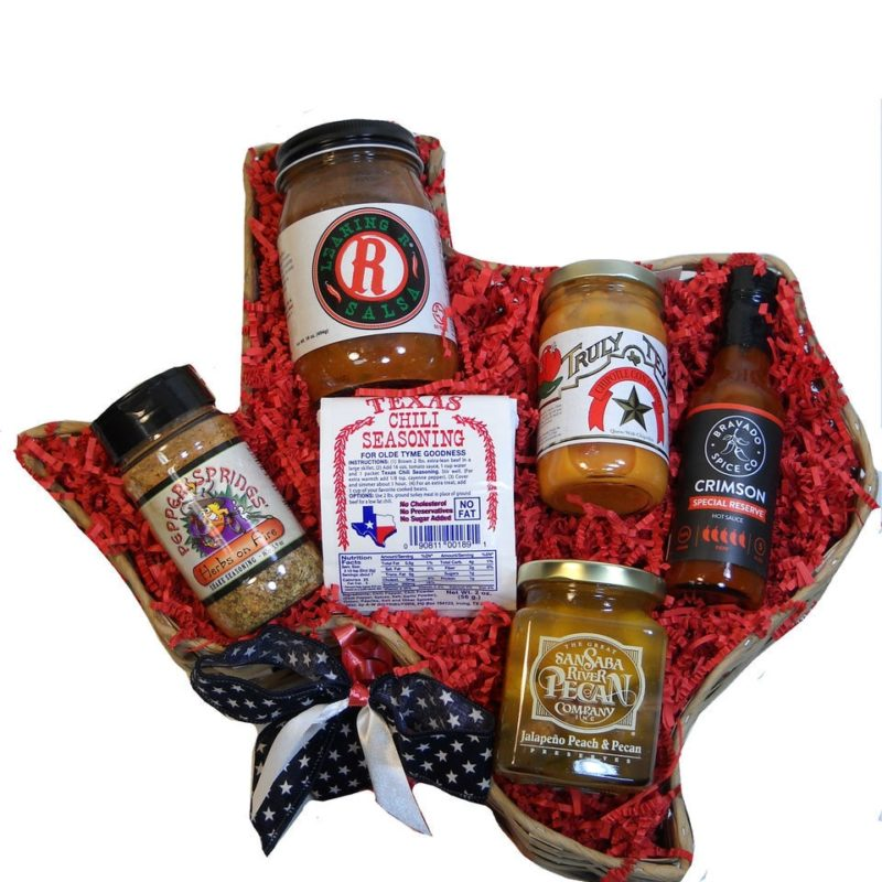 Texan At Heart Spicy Gift Basket