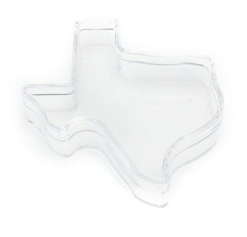 Texas-shaped Plastic Box
