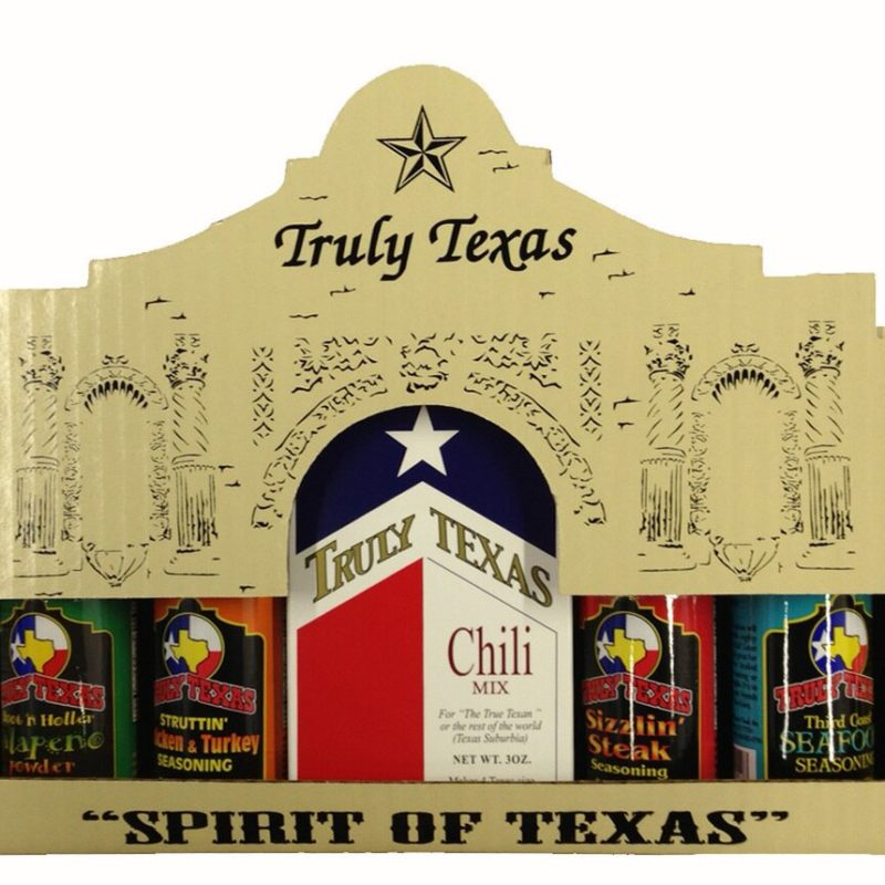 Spirit of Texas Seasonings & Texas Chili Gift Pack