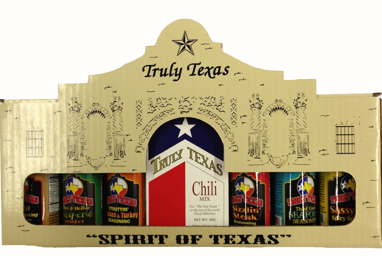 Spirit of Texas Seasonings & Texas Chili Gift Pack 1