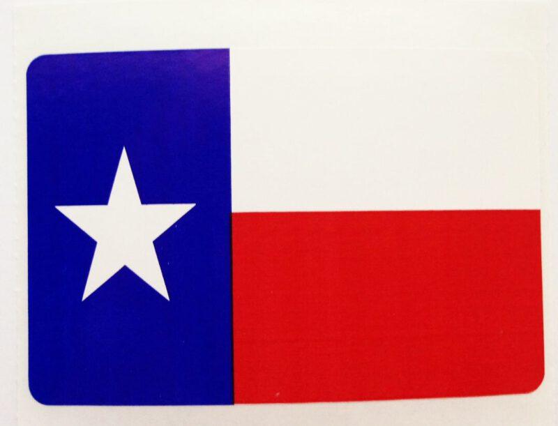 Texas Flag Stickers-10 per set
