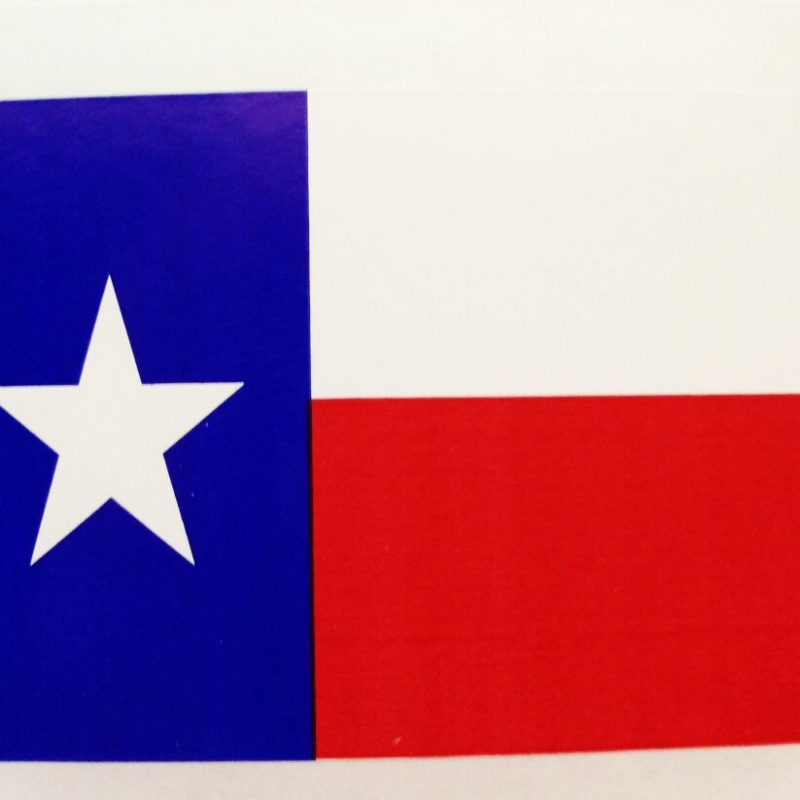 Texas Flag Stickers-10 per set