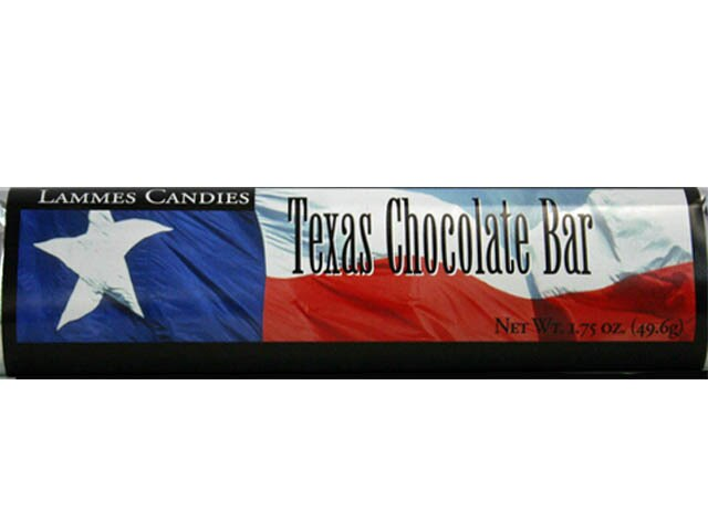 Candy Bar - Texas Flag