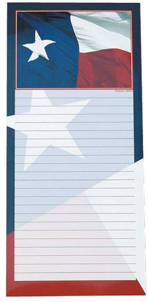 Texas Flag Memo Pad