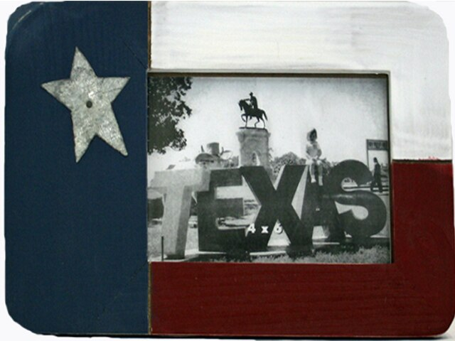 Picture Frame - Texas Flag